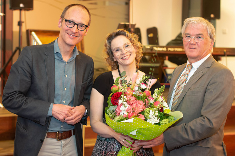 Von links nach rechts: Johannes Kevenhörster, Jessika Lüning, Ulrich Kemner