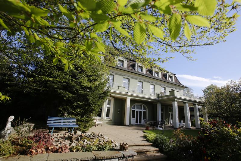 Gartenansicht vom Hospiz